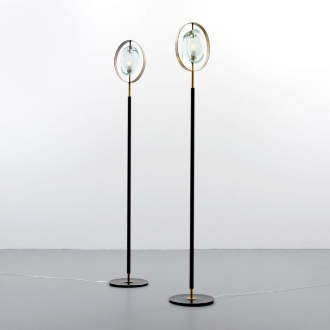 "Max Ingrand, Pair of ""2020"" floor lamps (sold)"