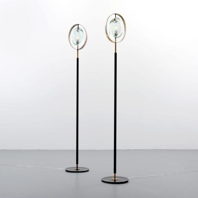 Max Ingrand, Paire de lampadaires «2020» (vendue)