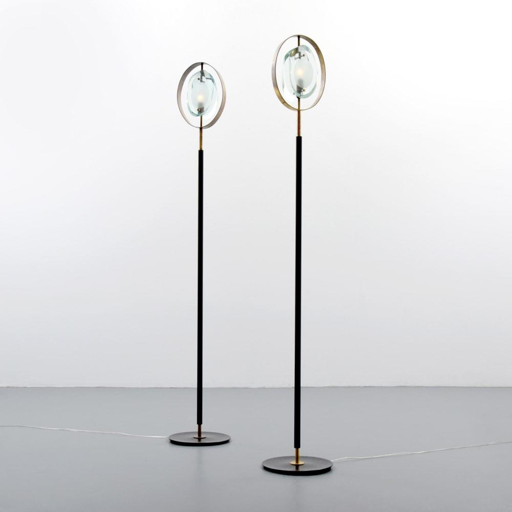 Max Ingrand, Paire de lampadaires «2020» (vendue), vue 01