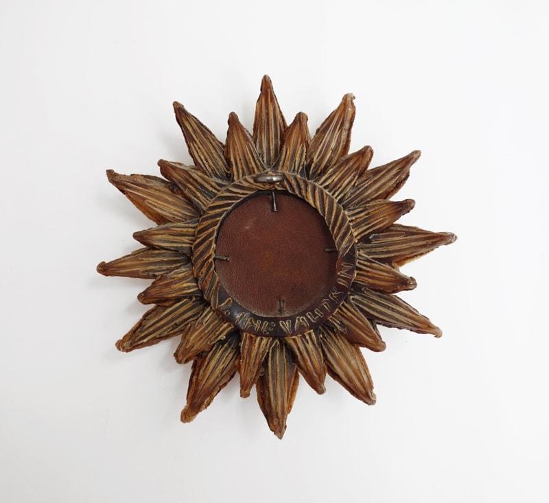 Line Vautrin, Miroir «Soleil à pointes n°0» (Vendu), vue 02