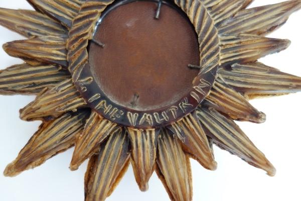 Line Vautrin, Miroir «Soleil à pointes n°0» (Vendu), vue 03