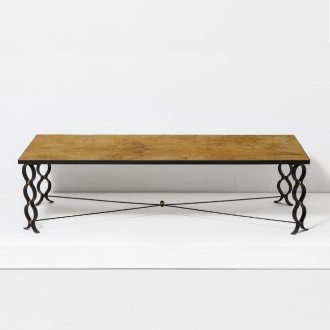 "Jean Royère, ""Ruban"" coffee table"