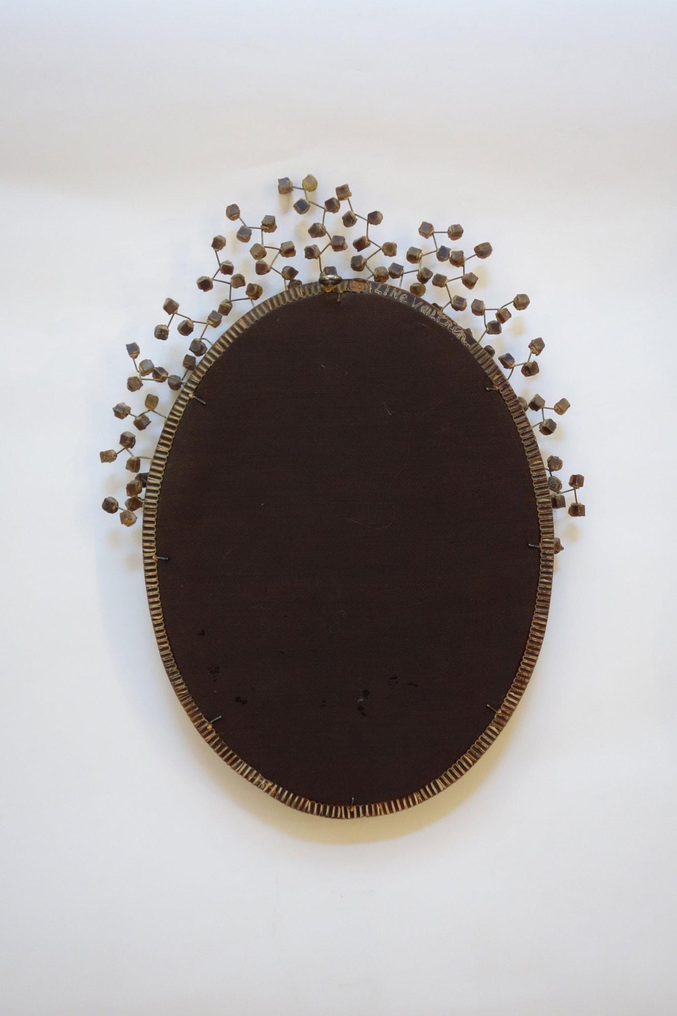 "Line Vautrin, Rare miroir ""Perruque"" (vendu), vue 03"