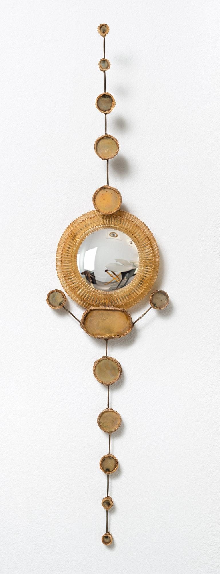 Line Vautrin, Rare paire de miroirs (vendue), vue 02