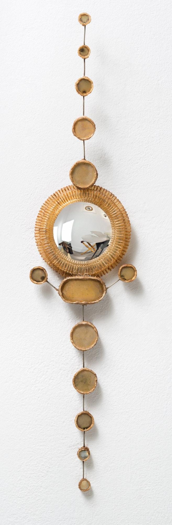 Line Vautrin, Rare paire de miroirs (vendue), vue 03