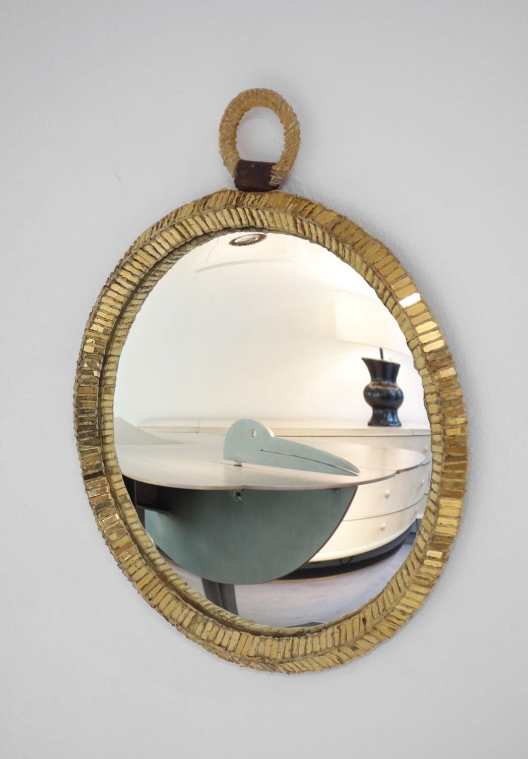 "Line Vautrin, Miroir ""Montre"" (vendu), vue 01"