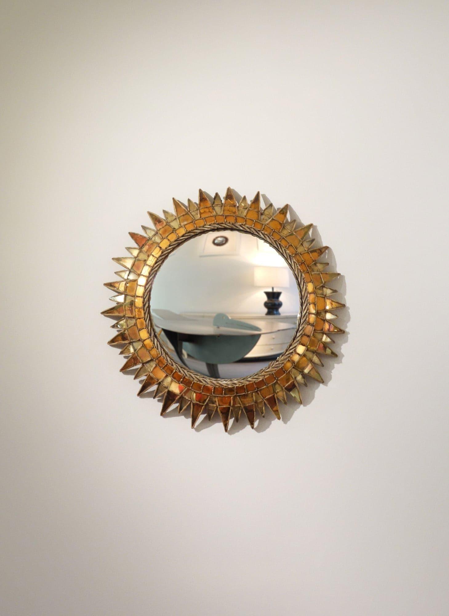 Line Vautrin, Miroir «Soleil à pointes n°3», vue 01