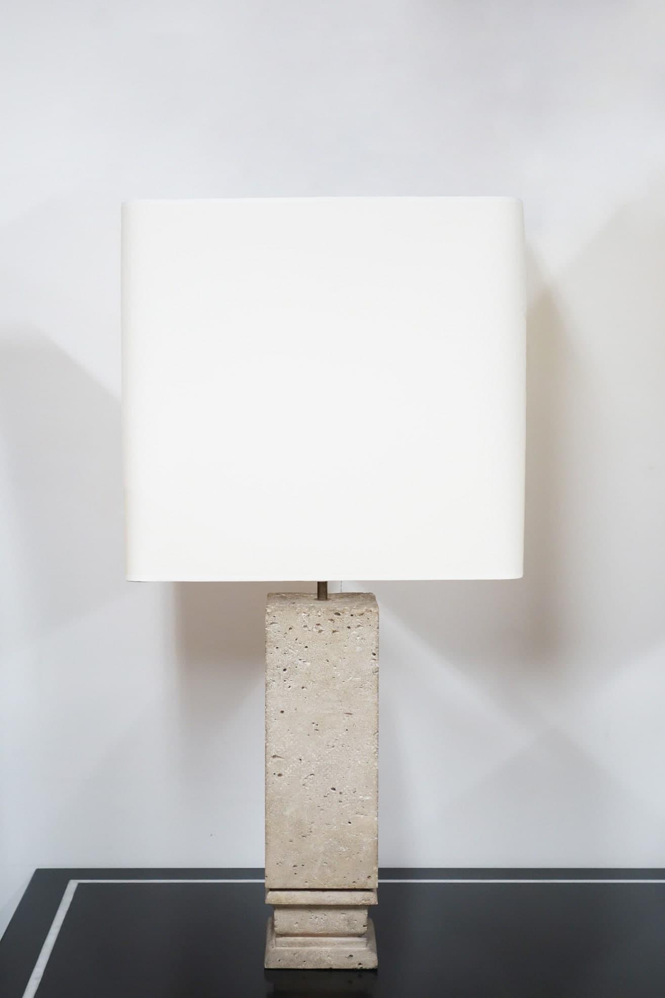 Jean-Charles Moreux, Pair of lamps, vue 02