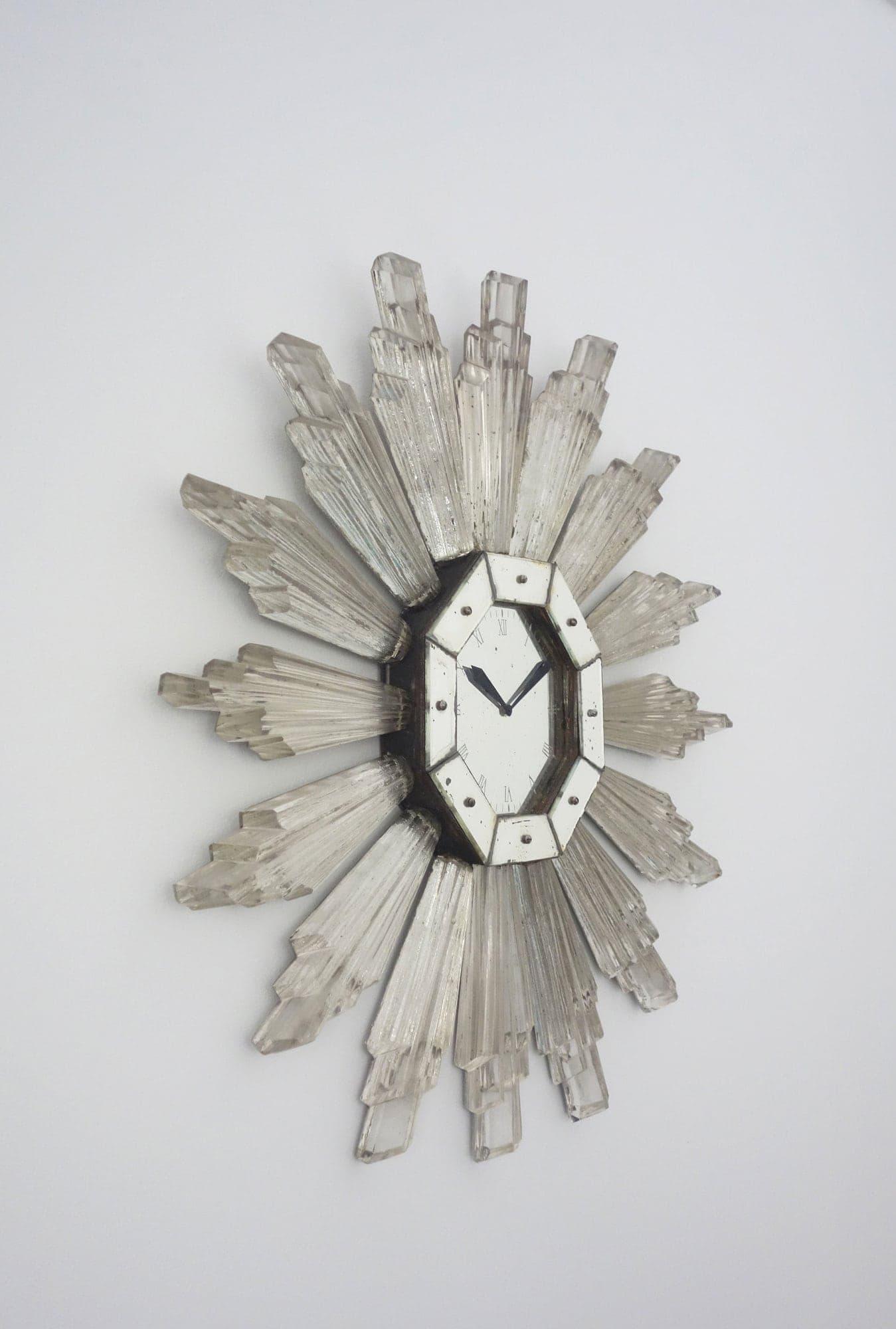 Serge Roche, Très rare horloge murale (vendue), vue 03