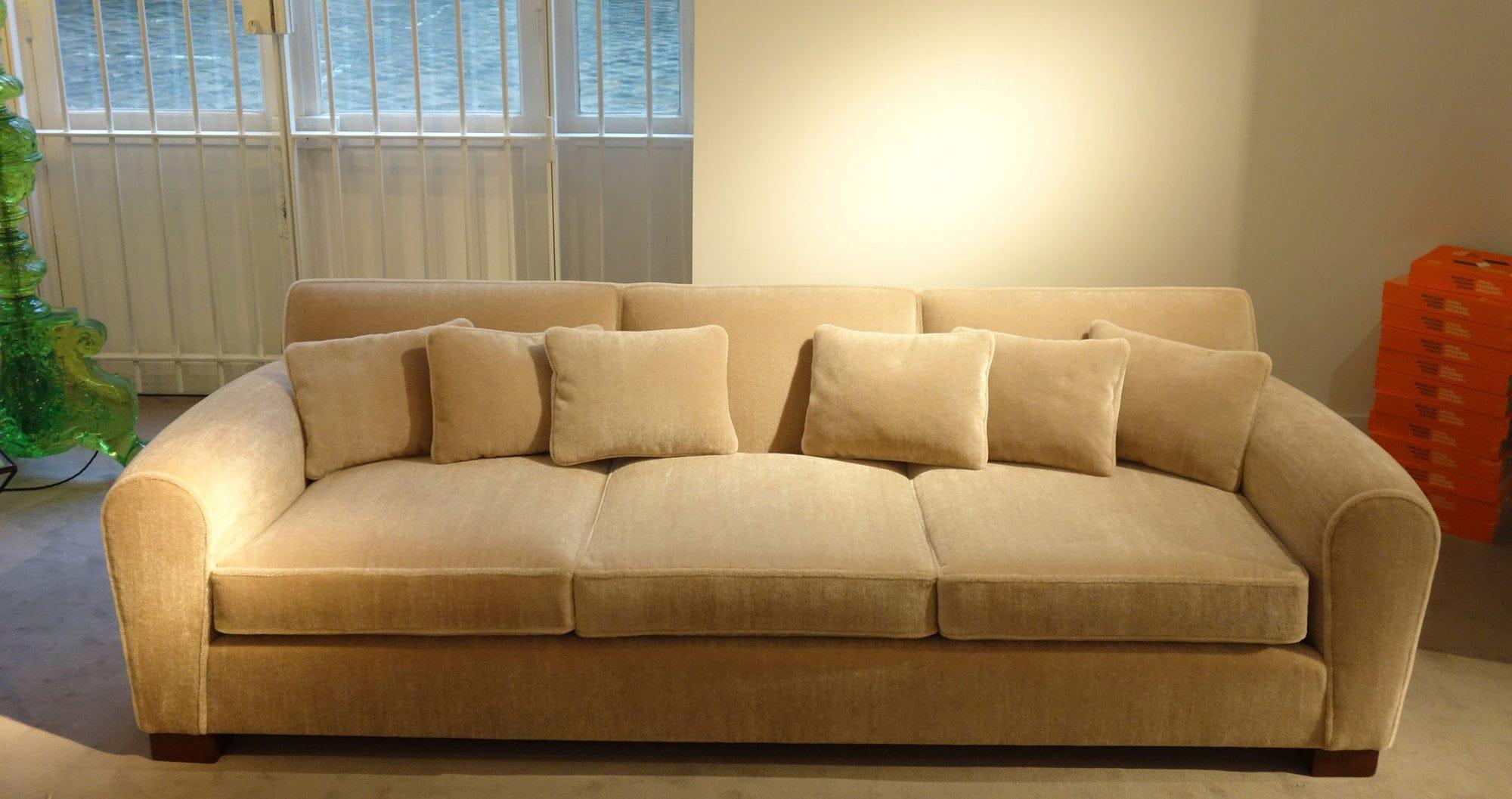 Jean Royère, Rare sofa (sold), vue 01