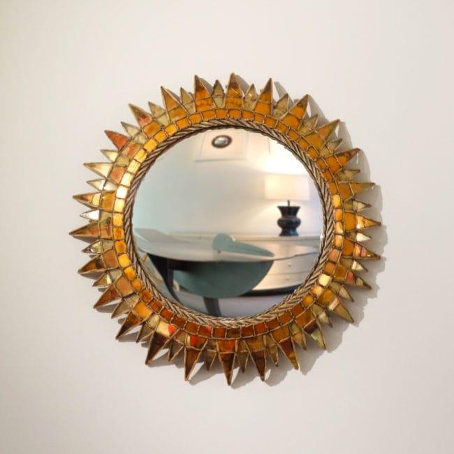 Line Vautrin, Miroir «Soleil à pointes n°3» (vendu)