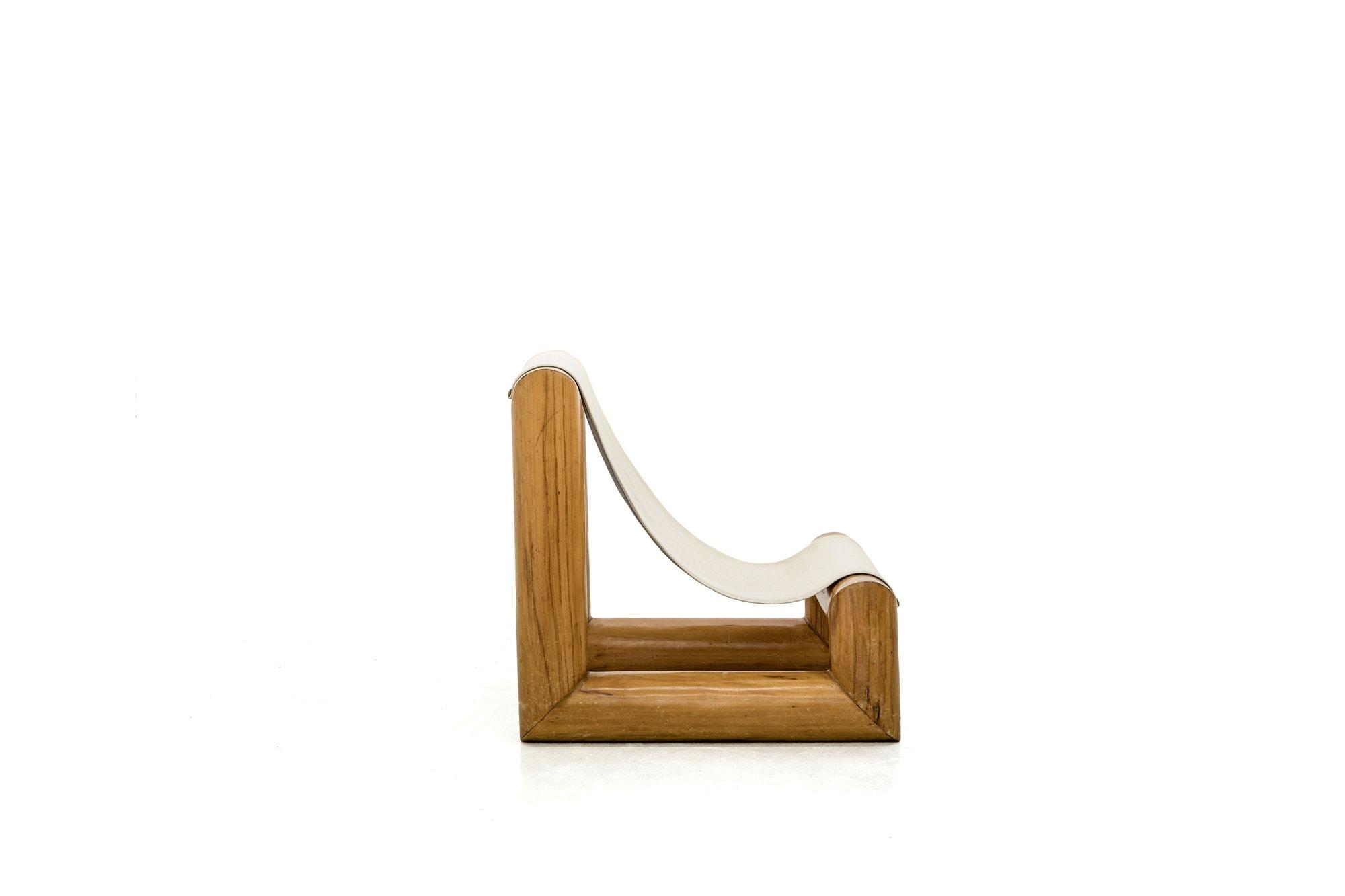 Jose Zanine Caldas, Très rare paire de sièges 'Tronco' (vendue), vue 03