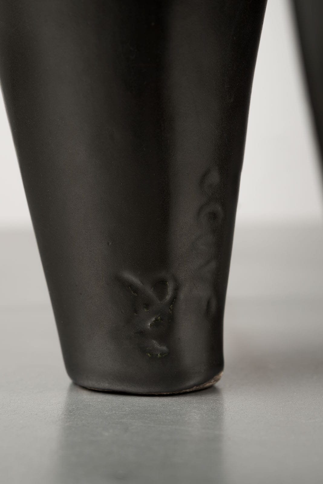Georges Jouve, Rare lampe sculpturale en céramique (vendue), vue 02