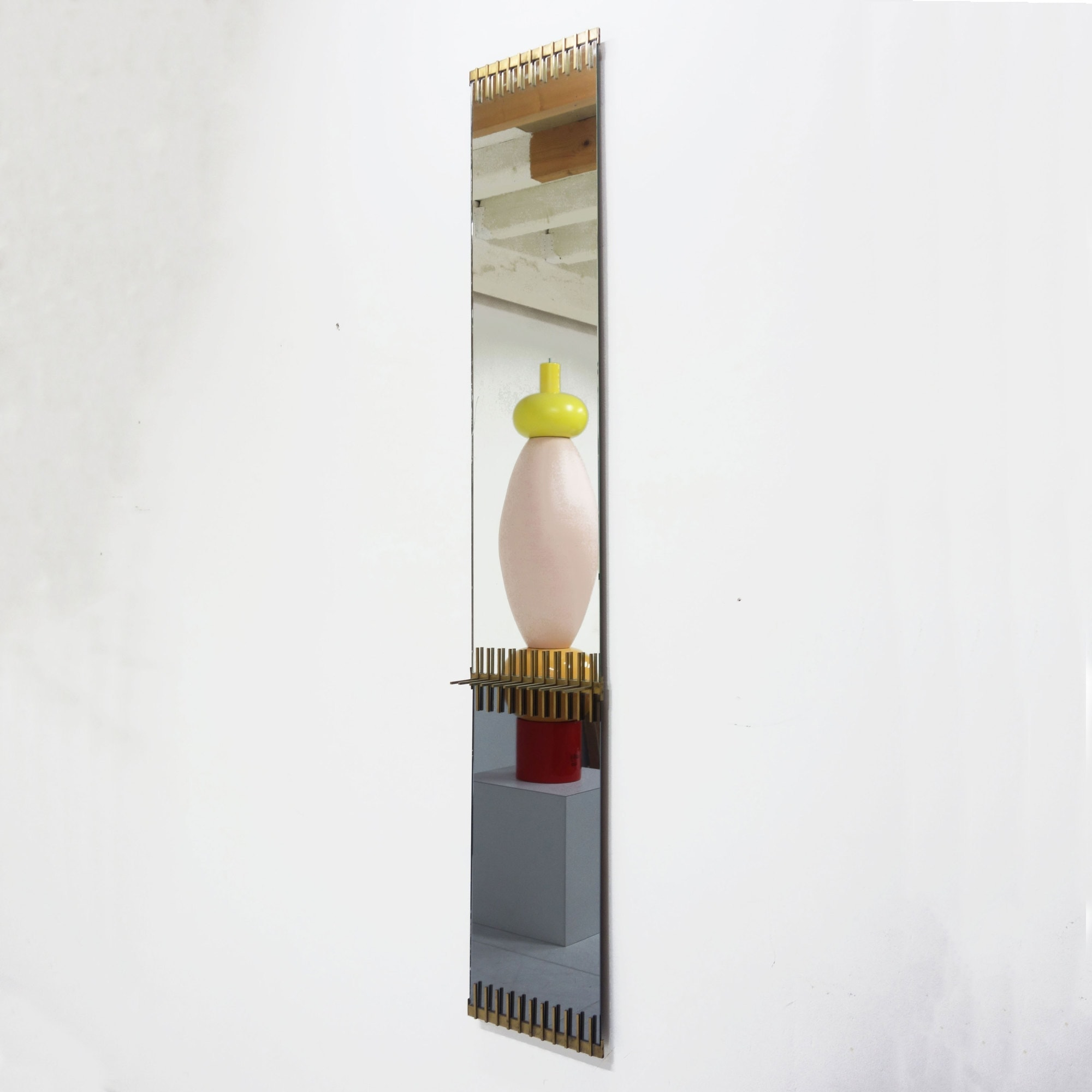 Ettore Sottsass, Rare mirror, vue 01