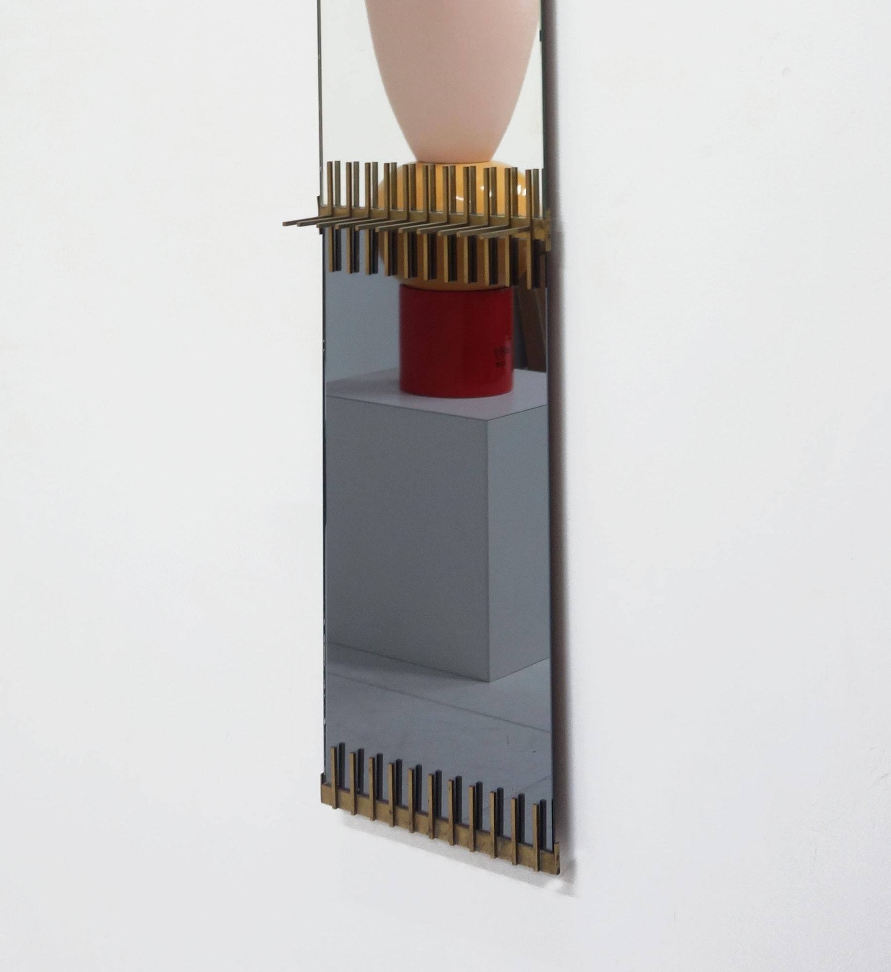 Ettore Sottsass, Rare miroir, vue 02