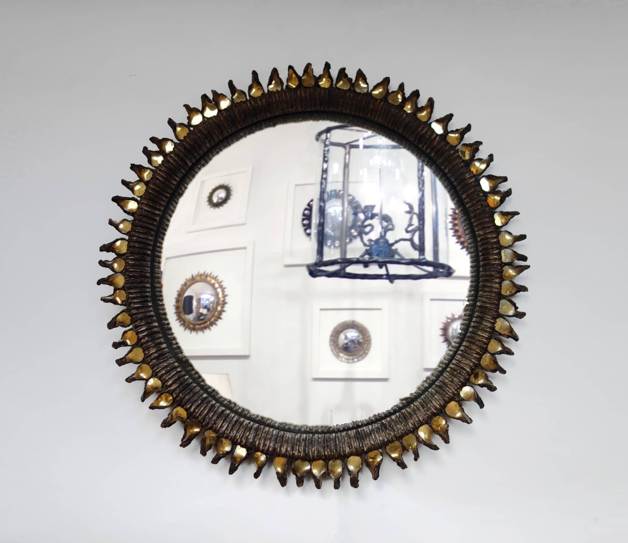Line Vautrin, Miroir «Flammes», vue 01