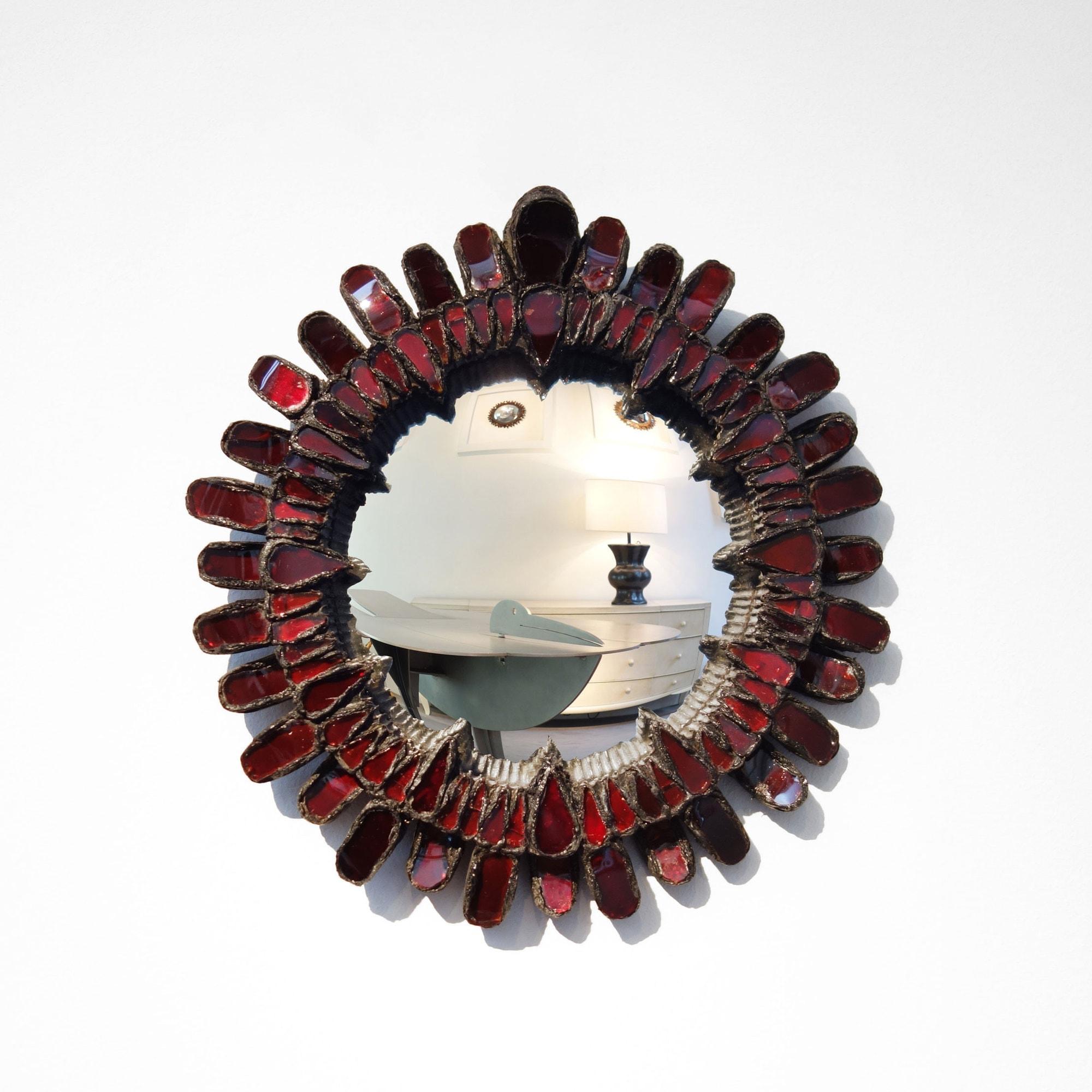 Line Vautrin, Miroir «Gerbera» (vendu), vue 01
