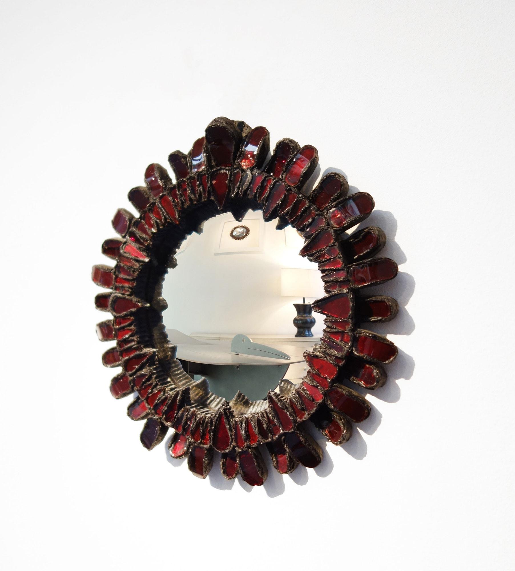 Line Vautrin, Miroir «Gerbera» (vendu), vue 02