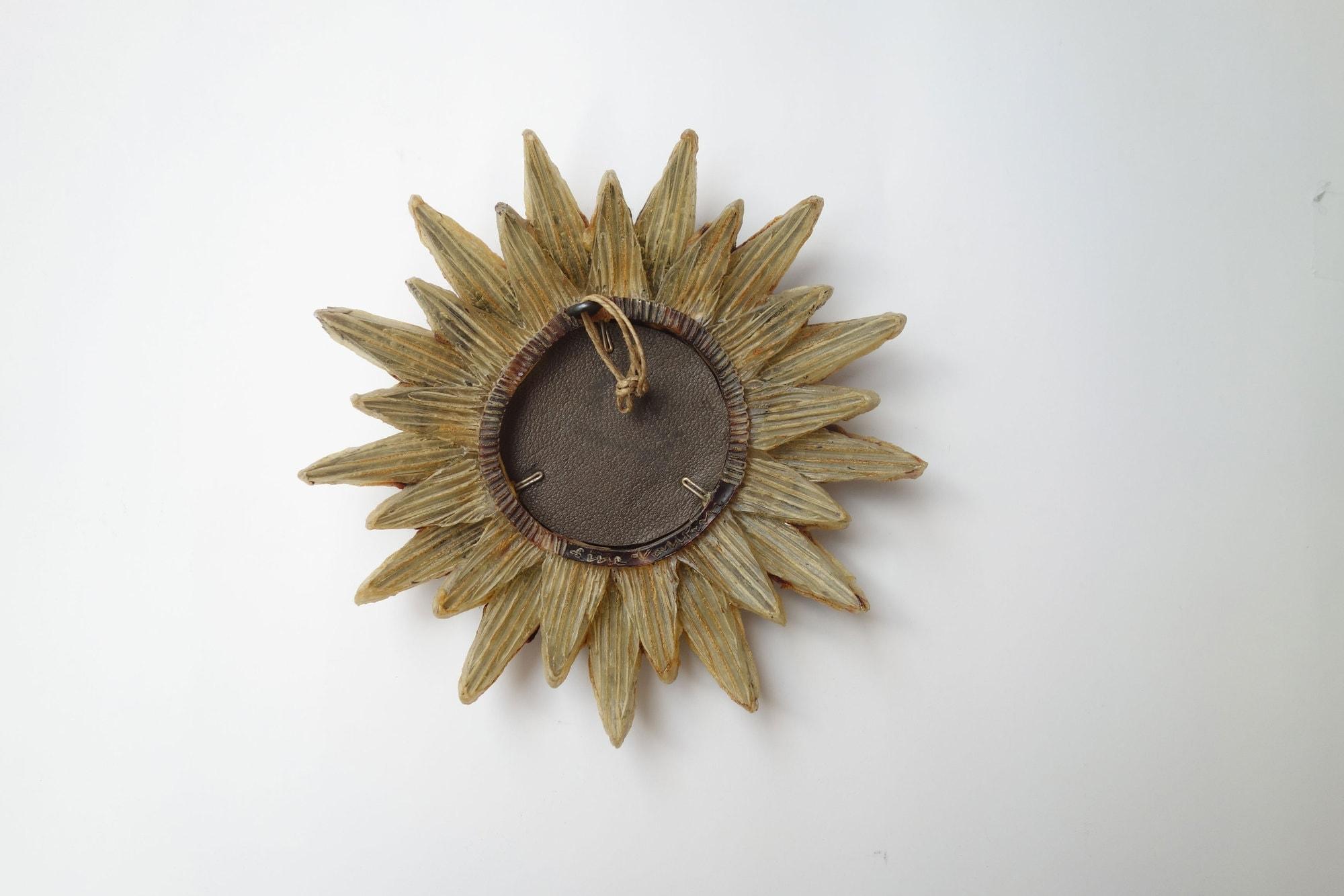 Line Vautrin, Miroir « Soleil à pointes n°0» (vendu), vue 02