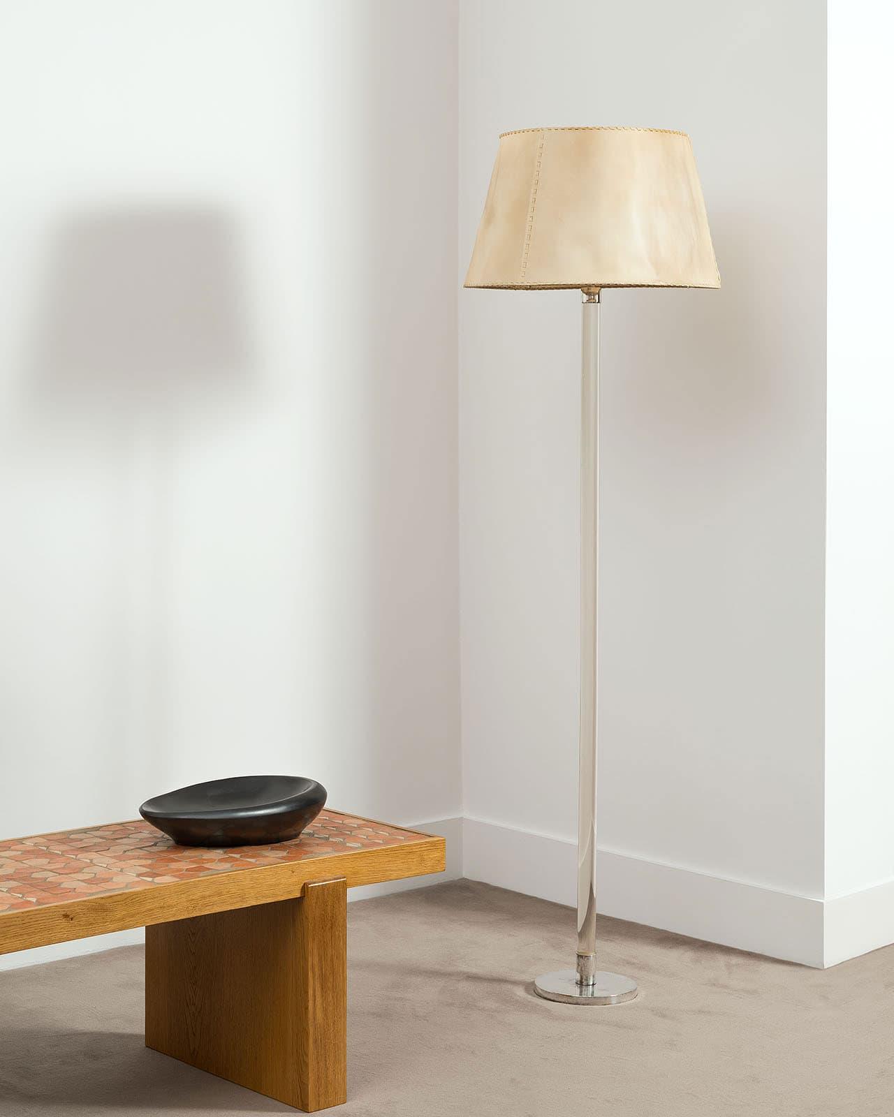 Jean-Michel Frank, Rare lampadaire (vendu), vue 01