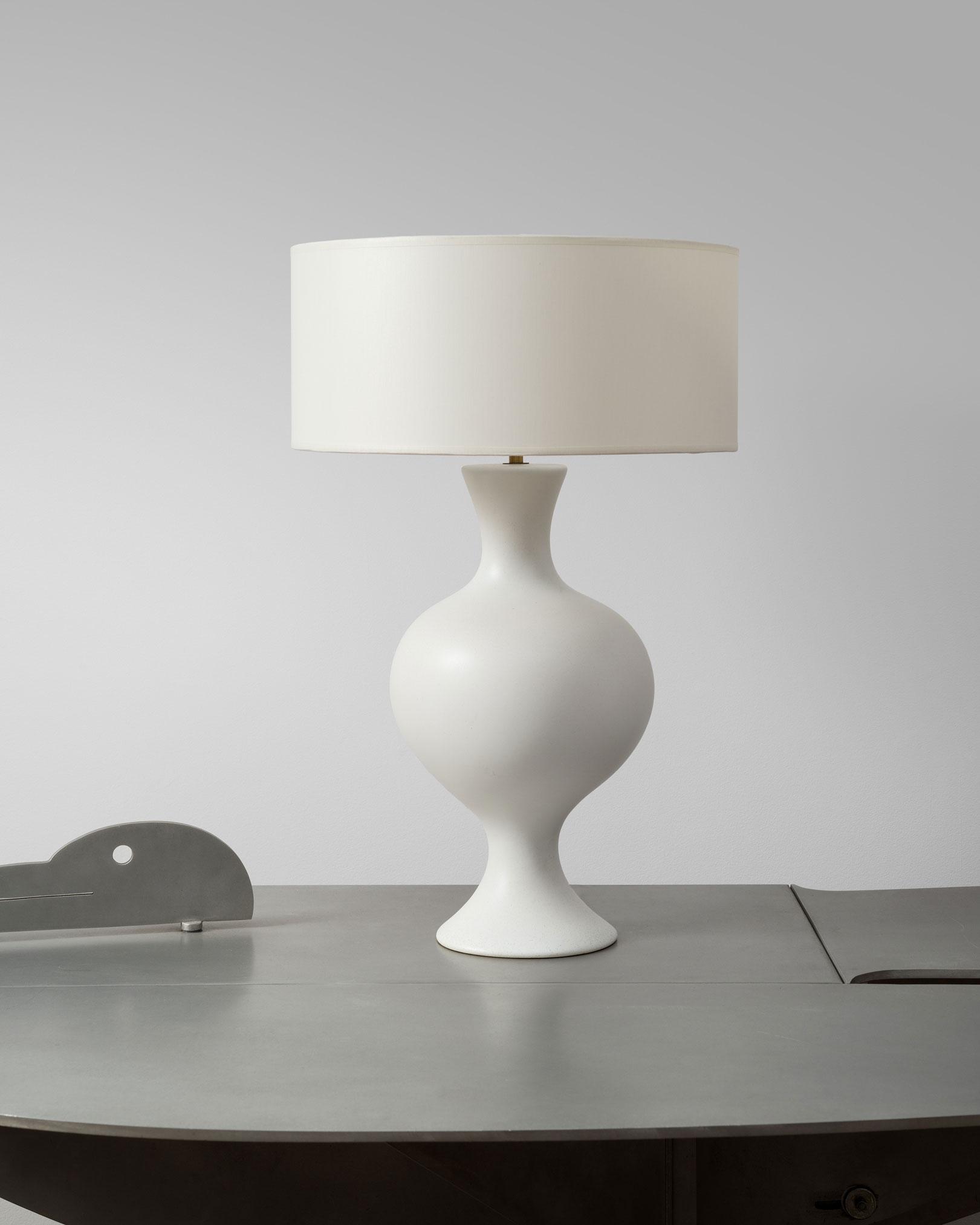 Denyse Gatard, Grande et rare lampe (vendue), vue 01