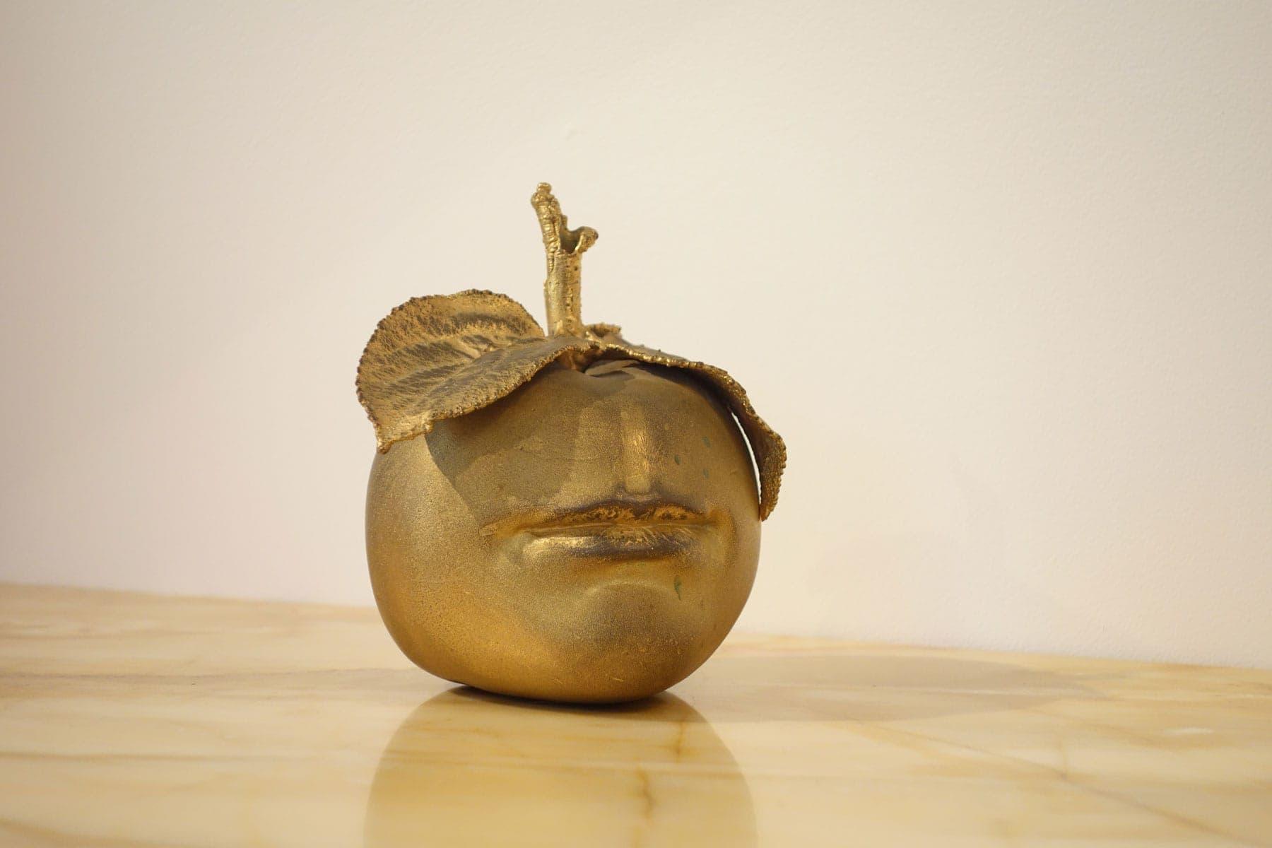 Claude Lalanne, Pomme bouche (vendue), vue 02