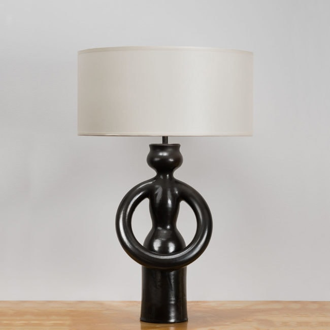 Atelier Madoura – Suzanne Ramie, Table lamp (sold)