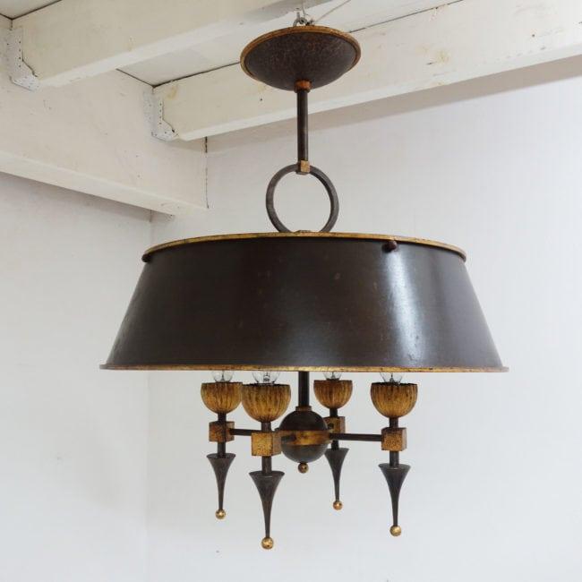 Gilbert Poillerat, Rare chandelier