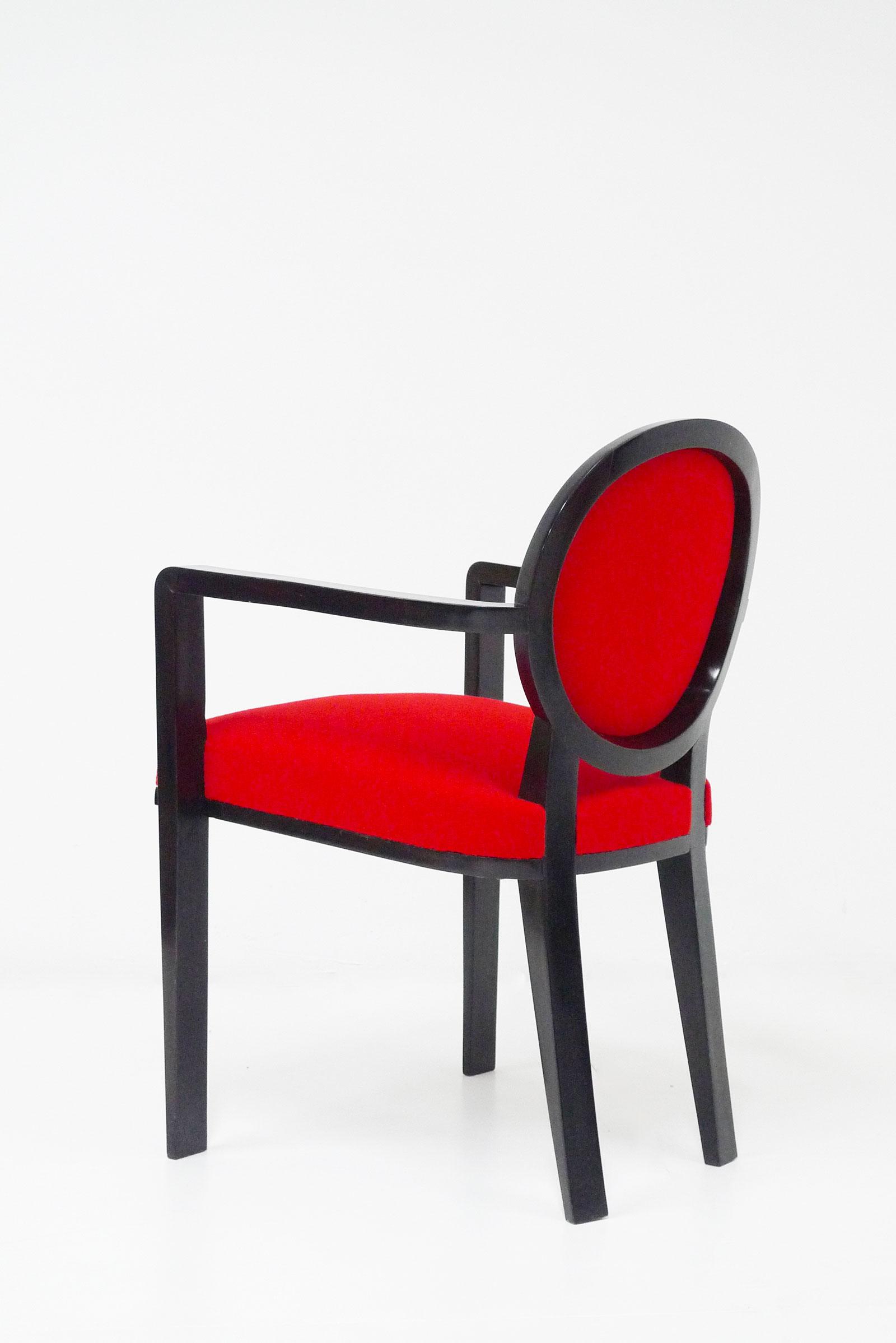 Jean Royère, « Drouant » armchairs, vue 02