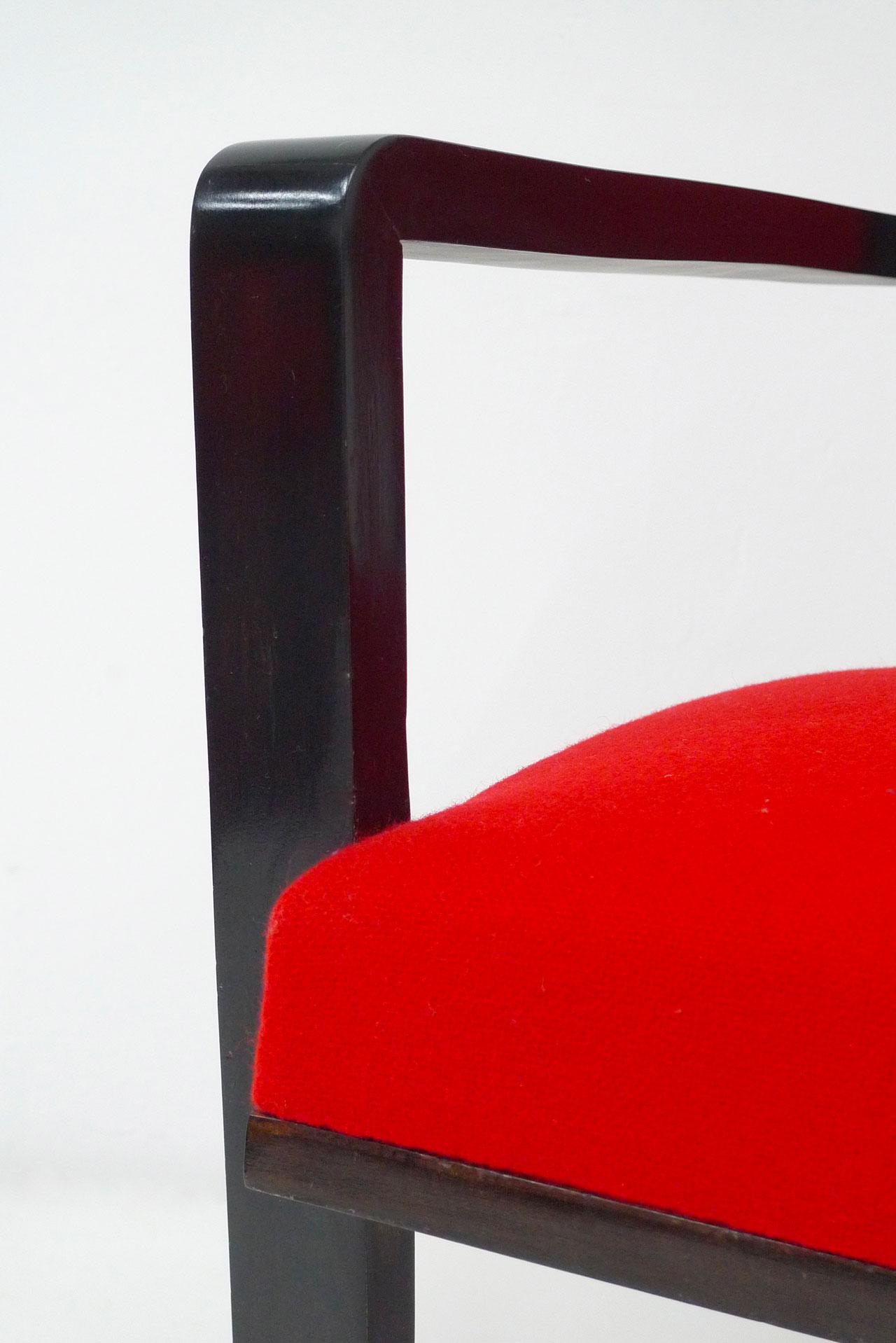 Jean Royère, « Drouant » armchairs, vue 04
