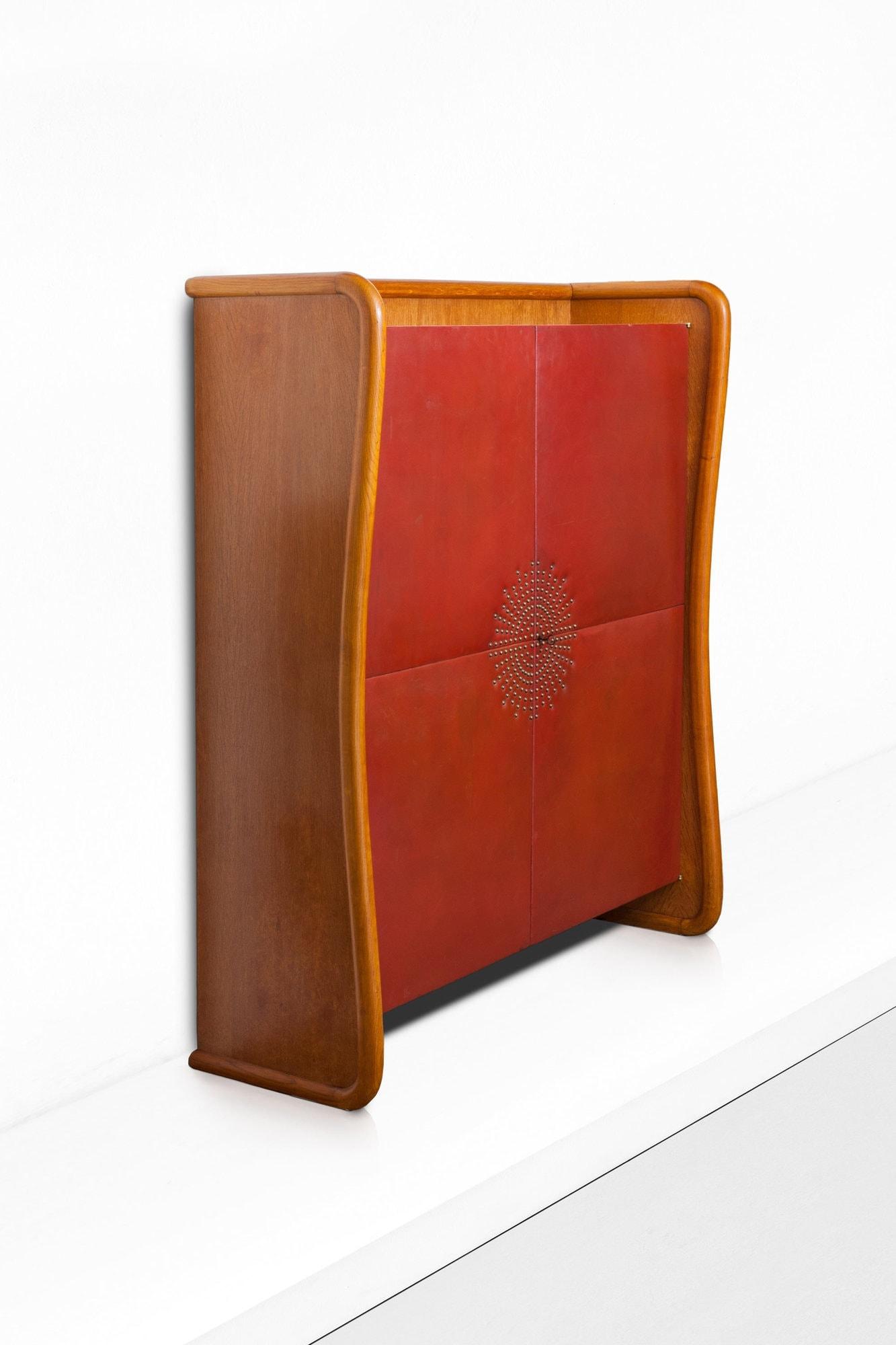 Jean Royère, Rare and elegant cabinet, vue 01