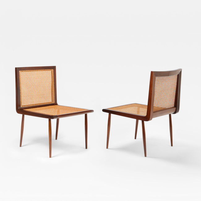 Joaquim Tenreiro, Pair of low chairs