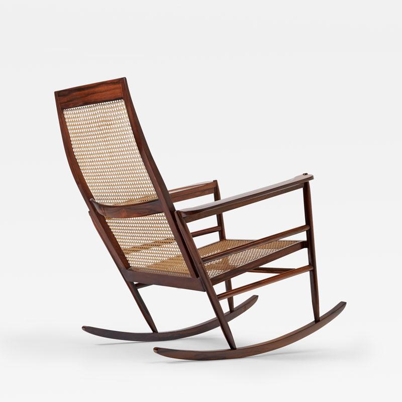 Joaquim Tenreiro, Rocking Chair, vue 01