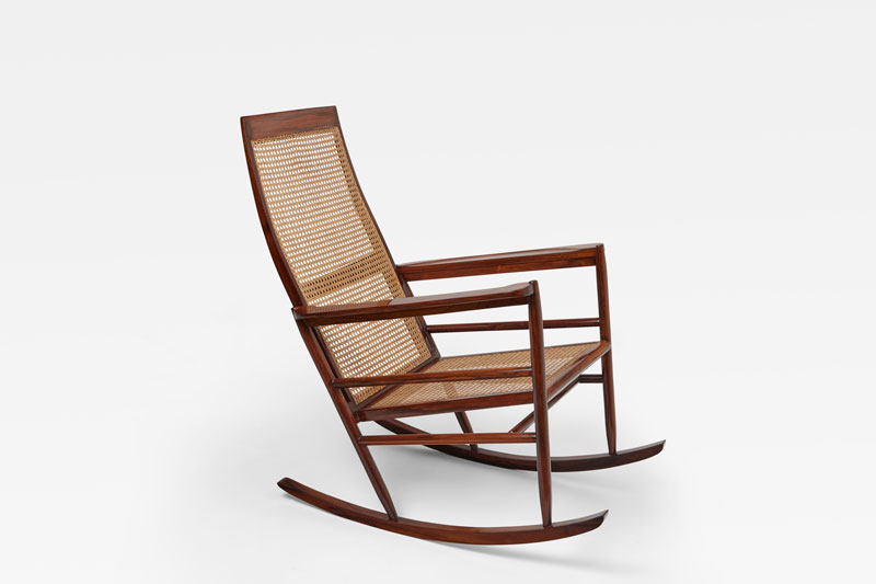 Joaquim Tenreiro, Rocking Chair, vue 02