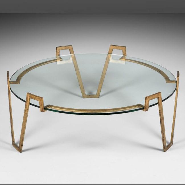 Jean Royère, Table basse « Val d'or » (vendue)
