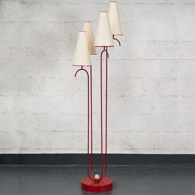 Jean Royère, Rare lampadaire «Jet d'eau» (vendu)
