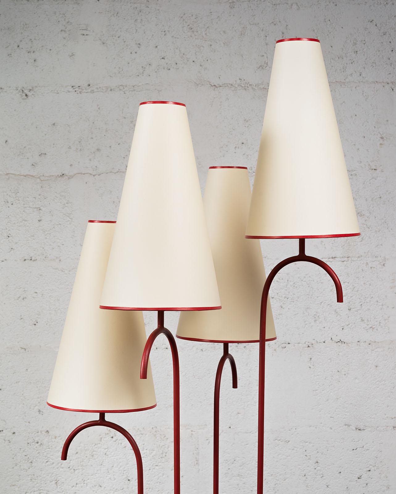 """Jean Royère, Rare lampadaire """"Jet d'eau"""" (vendu), vue 02"""