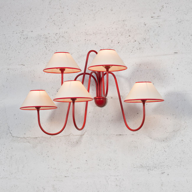 Jean Royère, Pair of 'Bouquet' wall-lights (sold)