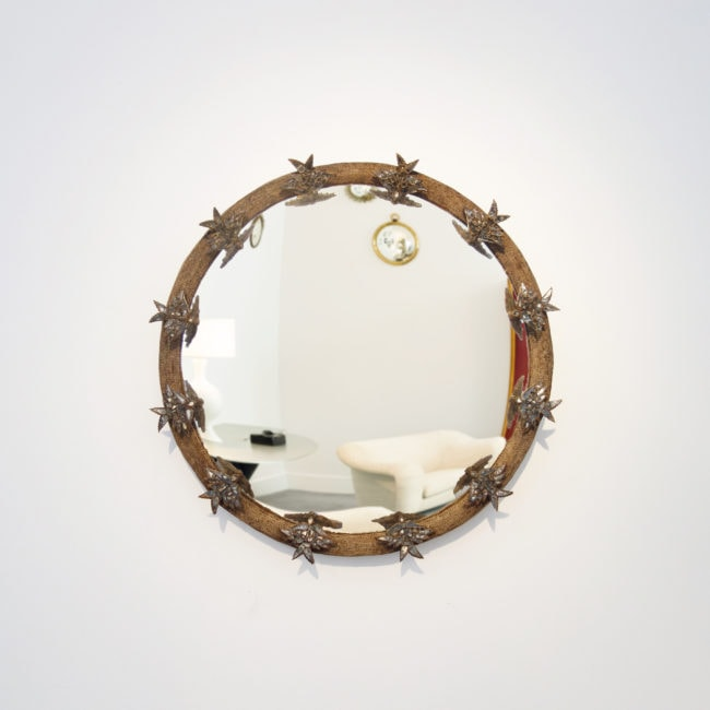 Line Vautrin, Rare Miroir «aux Alouettes»