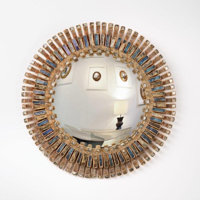 Line Vautrin, Grand miroir «Romain» (vendu)