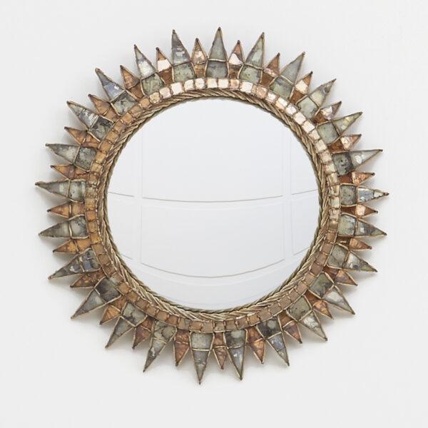 """Line Vautrin, """"Soleil à pointes n°3"""" mirror"""