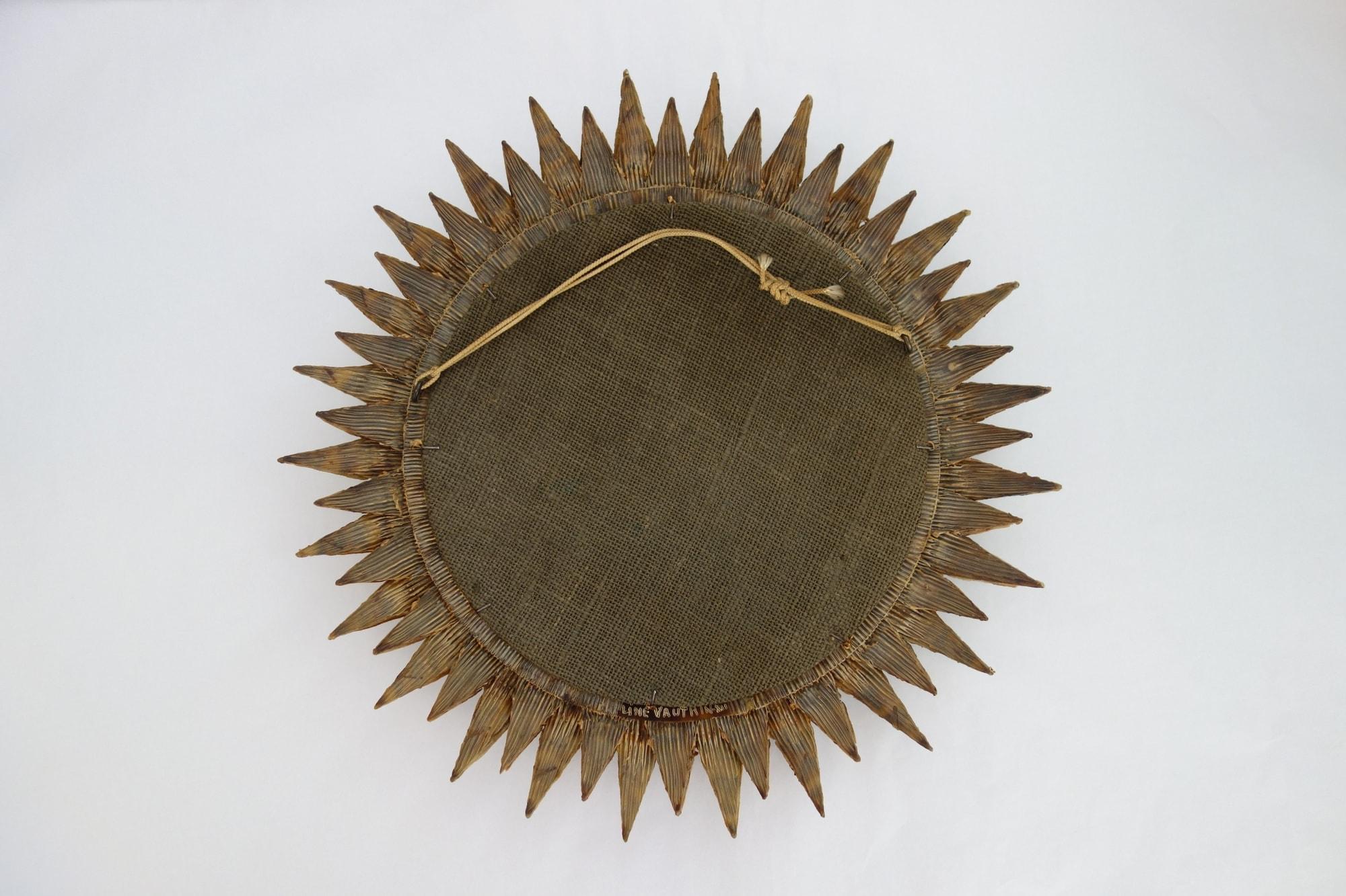 Line Vautrin, 'Soleil à pointes n°3' mirror, vue 02