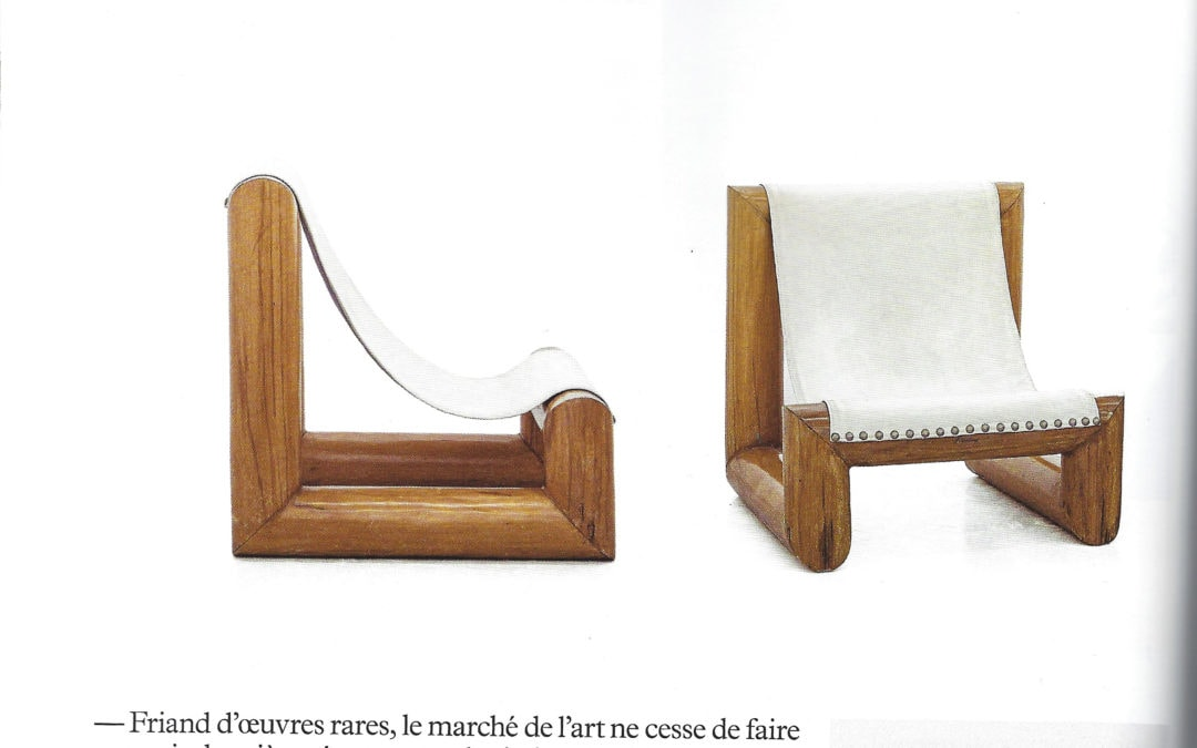 Milk Décoration – Les meubles sculptures de José Zanine Caldas – June / August 2019