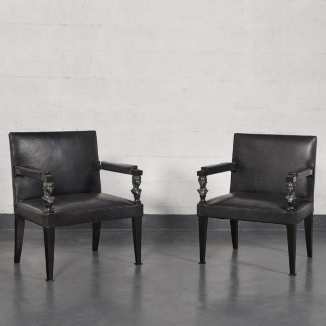 André Arbus & Vadim Androusov, Pair of armchairs