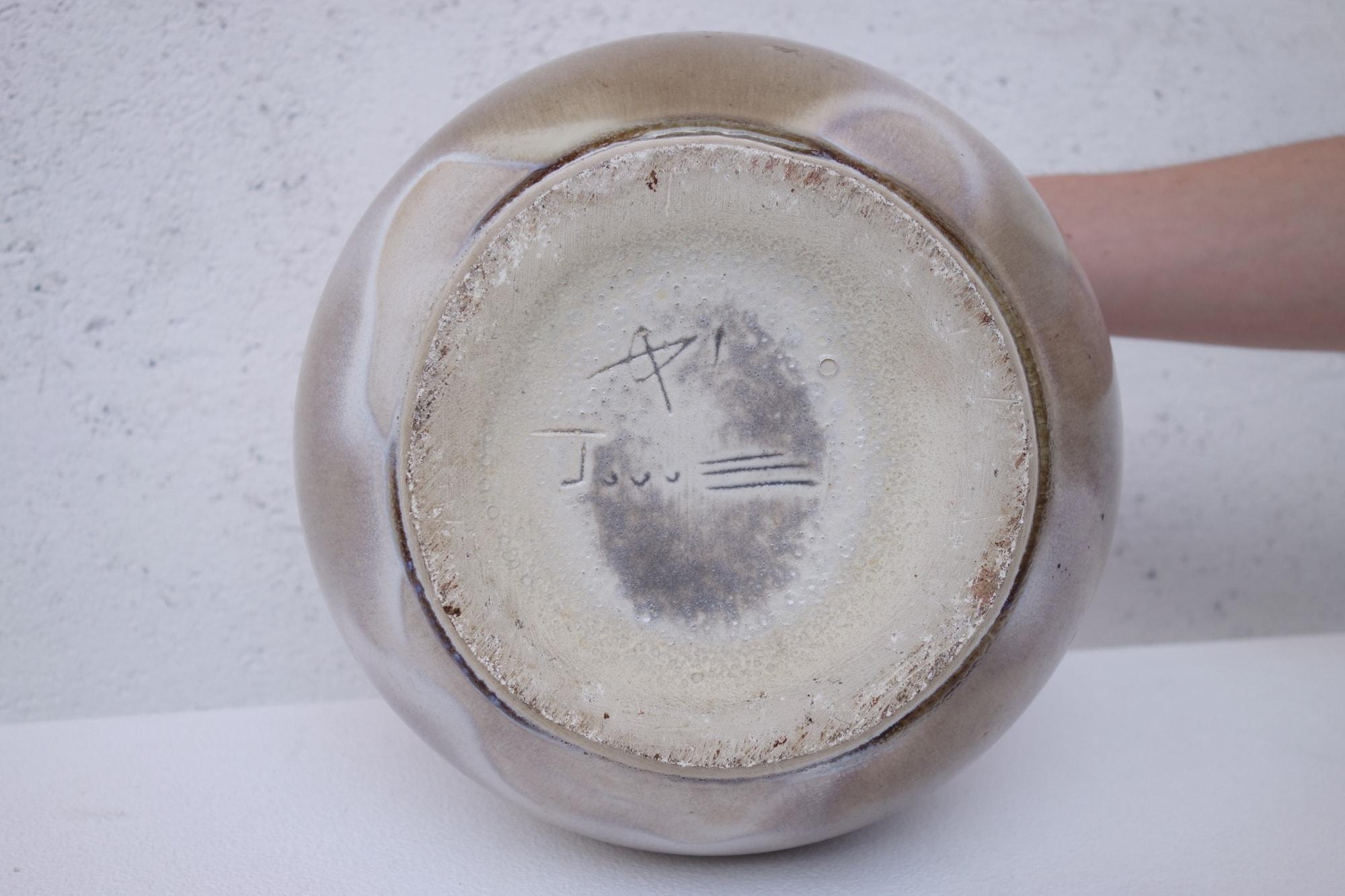"""Georges Jouve, Vase """"Pomme"""", vue 02"""