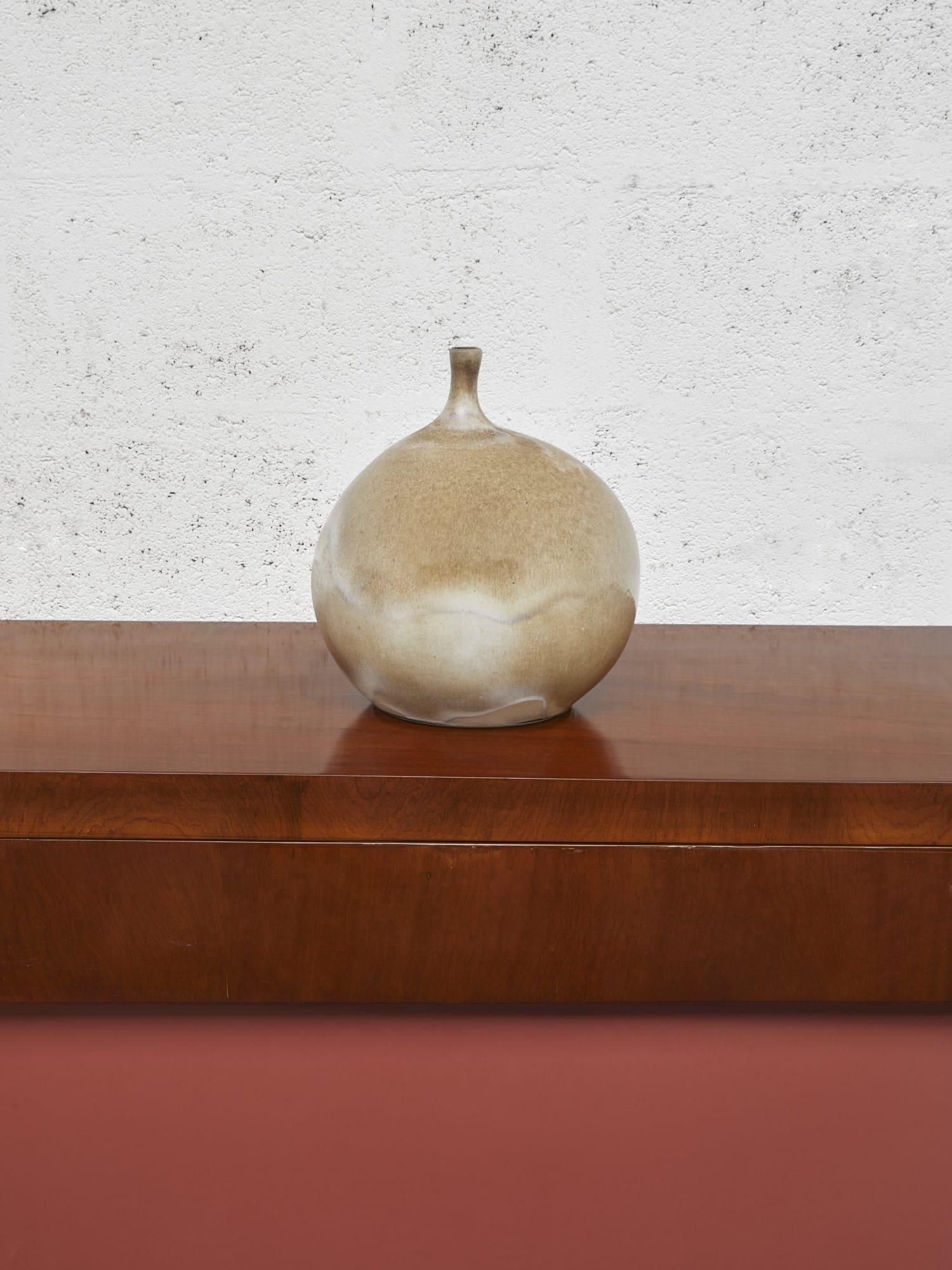 """Georges Jouve, Vase """"Pomme"""", vue 01"""