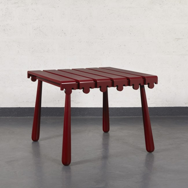 "Jean Royère, ""Quille"" table"