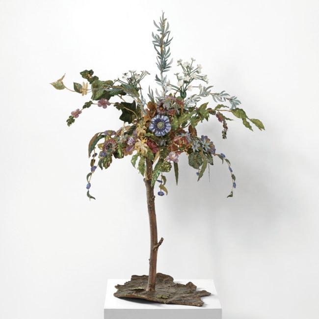 Joy de Rohan Chabot, «Le Jardin Suspendu» sculpture