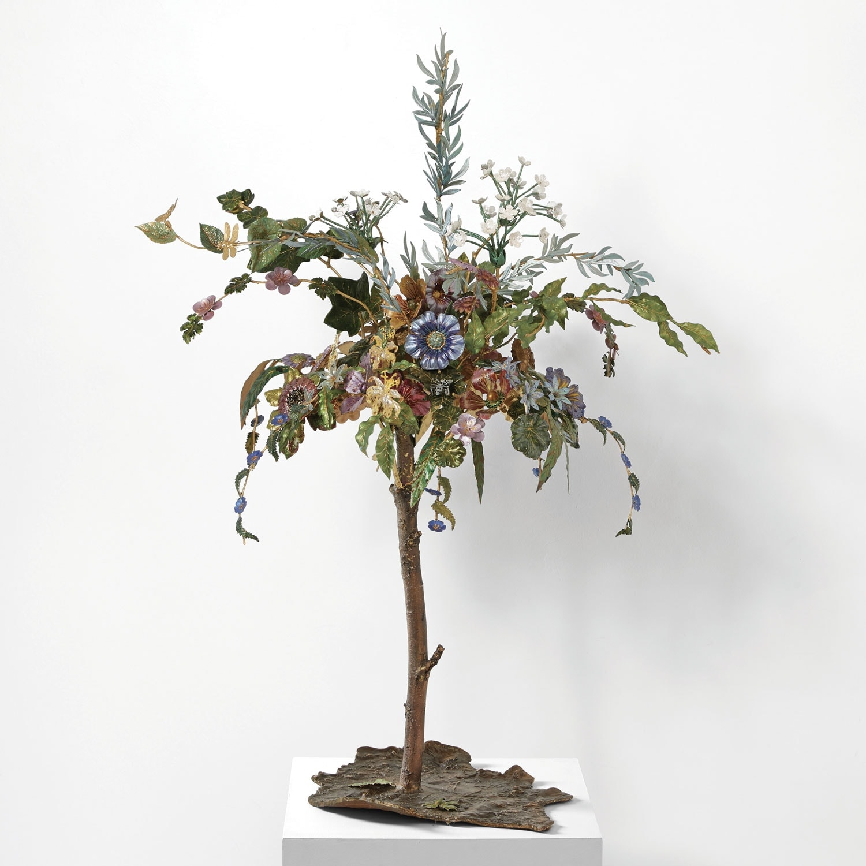 Joy de Rohan Chabot, «Le Jardin Suspendu» sculpture, vue 01