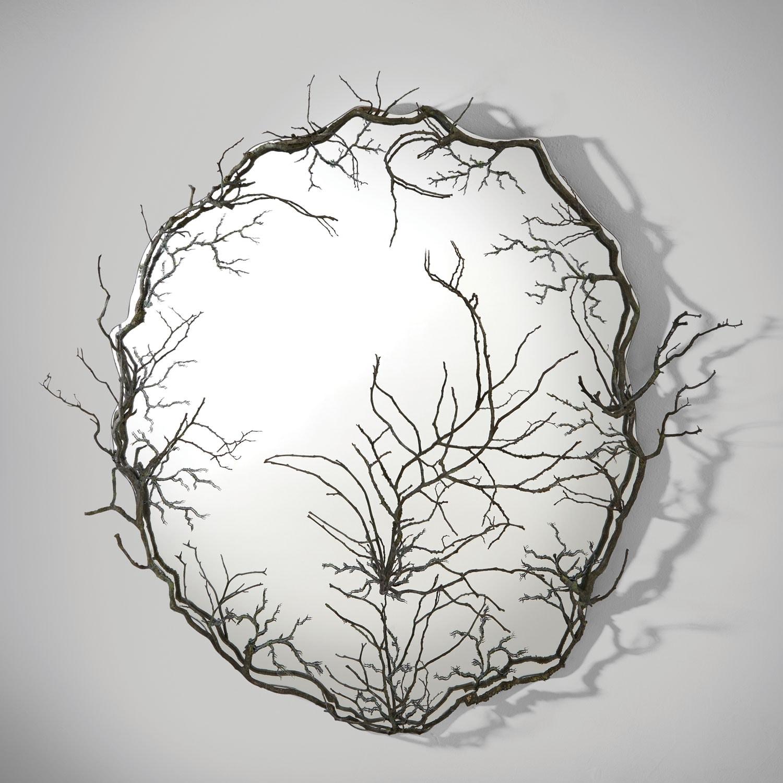 Joy Rohan Chabot, «L'Attrape-Rêve» mirror, vue 01